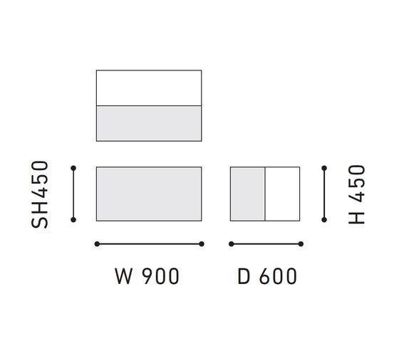 Halfway | Double by Karimoku New Standard by Karimoku New Standard