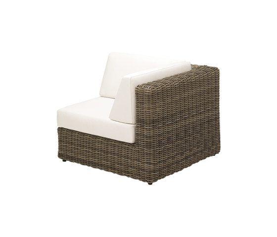 Havana Modular Right Corner Unit by Gloster Furniture by Gloster Furniture