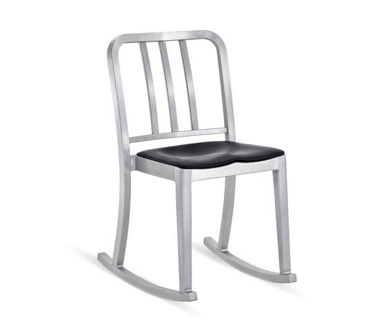 Heritage Rocking chair seat pad by Emeco