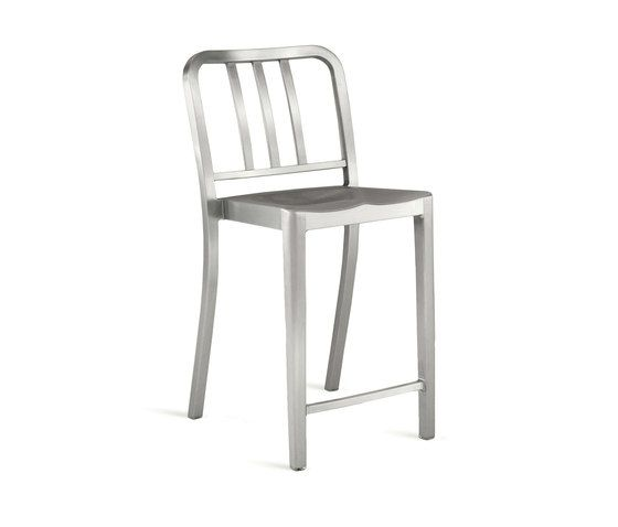 Heritage Stacking Counter Stool by Emeco