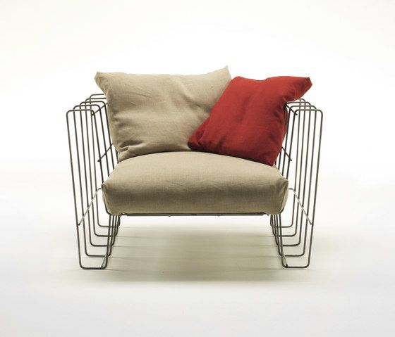 Hoop Armchair by Living Divani by Living Divani