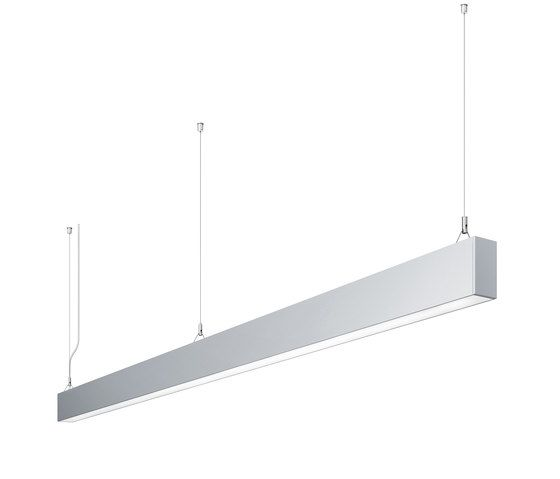 IDOO.line Single Luminaire by H. Waldmann by H. Waldmann