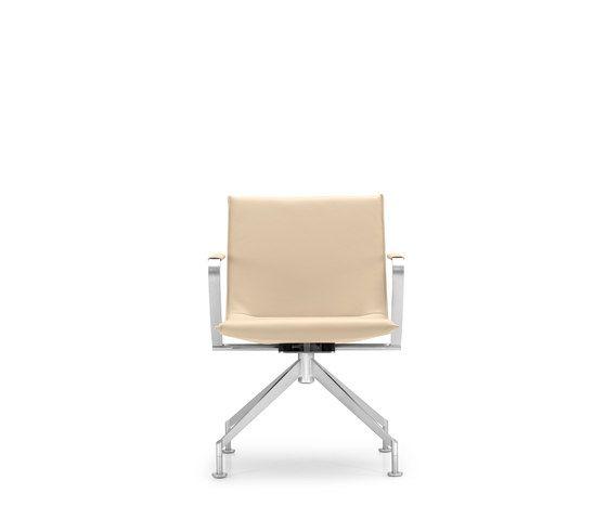 JACK 4-legged chair by Girsberger by Girsberger