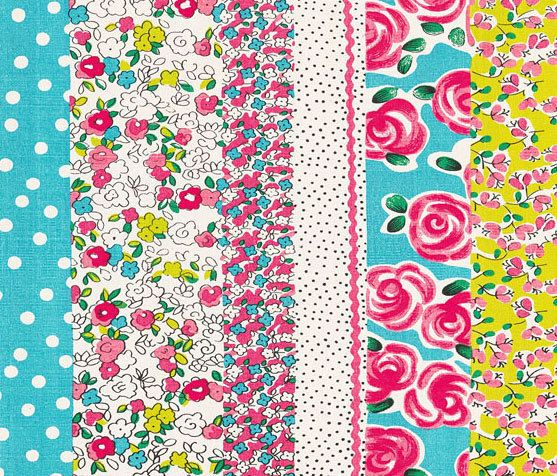 Kids Rugs - Daisy Stripe Peony by Designers Guild by Designers Guild