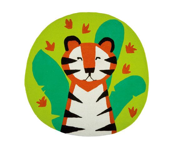 Kids Rugs - Jungle Playtime Leaf by Designers Guild by Designers Guild