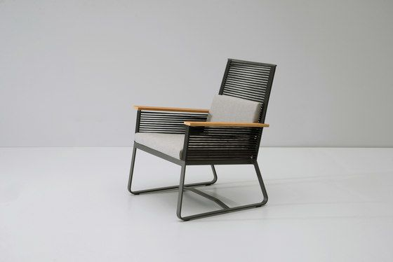 Landscape club armchair teak by KETTAL by KETTAL