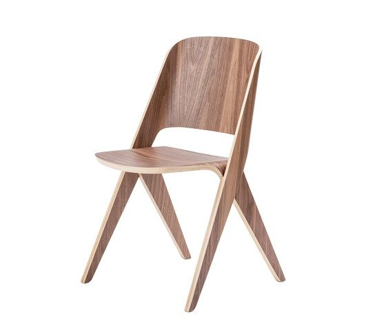 Lavitta chair misty walnut by Poiat by Poiat