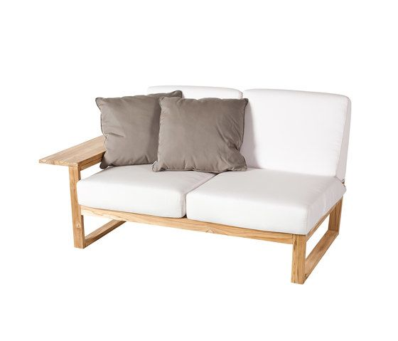 Lineal Module sofa 2 right arm by Point by Point