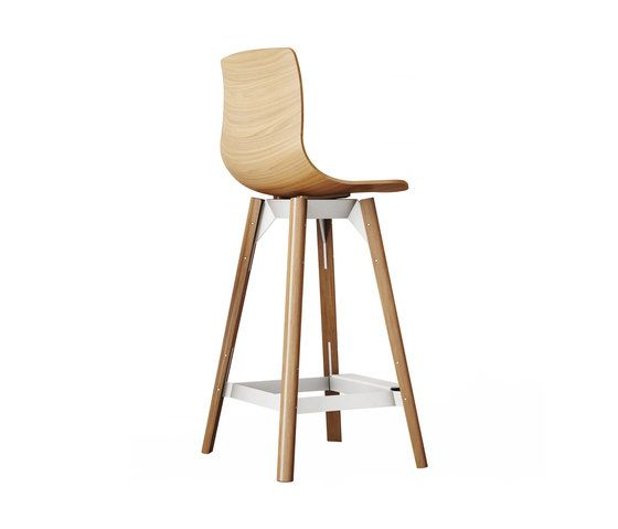 Loku High Bar Stool by Case Furniture by Case Furniture