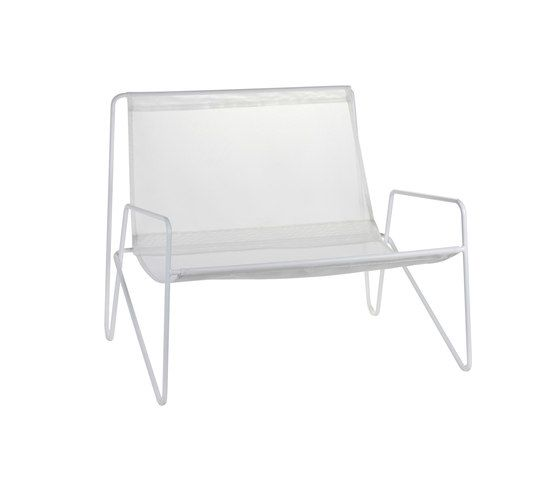 Lounge Armchair frame white/fabric white by Serax by Serax