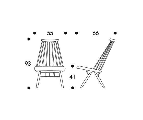 Mademoiselle Lounge Chair by Artek by Artek