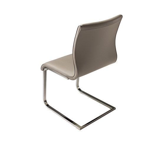 magnum leather cantilever chair by TEAM 7 by TEAM 7