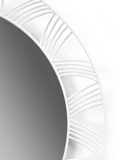 Mirror Round white by Serax by Serax