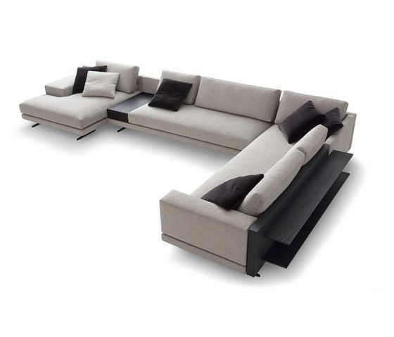 Mondrian seating system by Poliform by Poliform