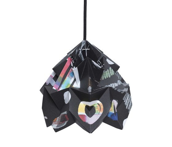 Moth Lamp - Tas-ka Nacht by Studio Snowpuppe by Studio Snowpuppe