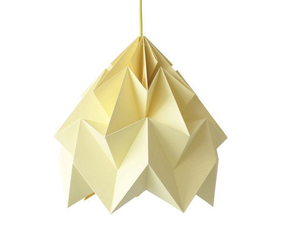 Moth XL Lamp - Canary Yellow by Studio Snowpuppe by Studio Snowpuppe