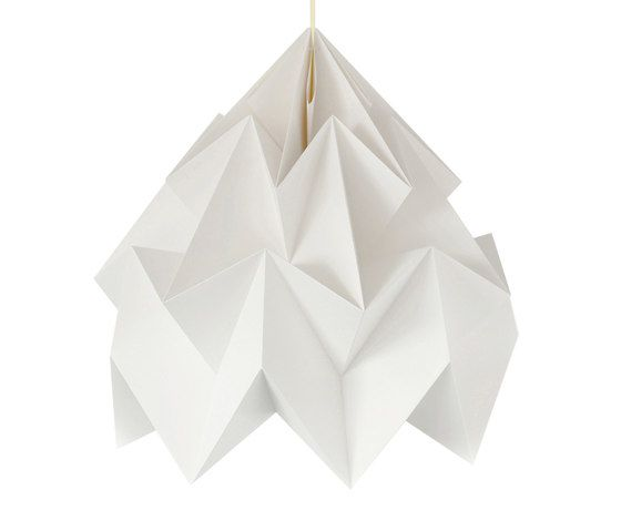 Moth XXL Lamp - White by Studio Snowpuppe by Studio Snowpuppe