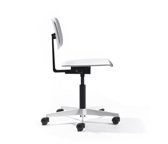Mr. Square working chair by Lampert by Lampert