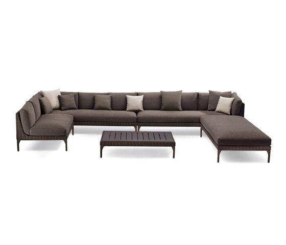 MU sofa by DEDON by DEDON