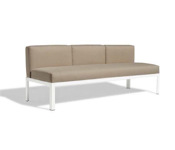 Nak 70 3-seater sofa by Bivaq by Bivaq