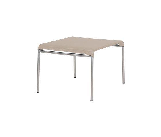 Natun Hemp footstool by Mamagreen by Mamagreen