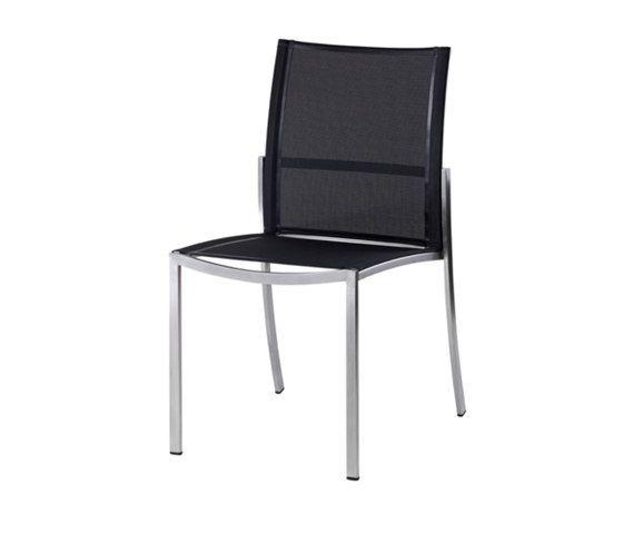 Nero Stacking Chair by Akula Living by Akula Living