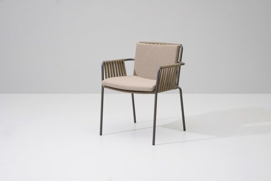 Net dining chair by KETTAL by KETTAL