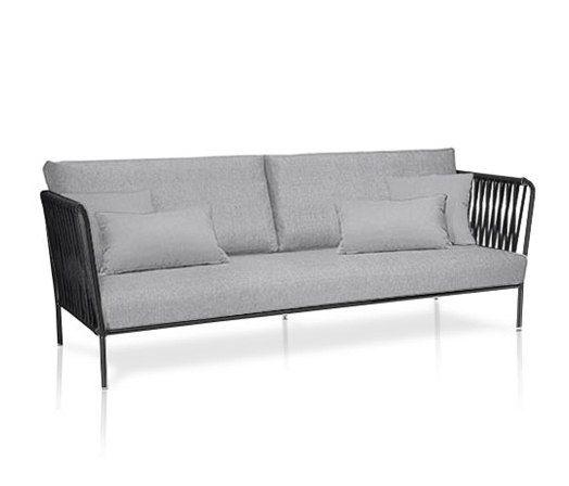 Nido XL hand-woven sofa by Expormim by Expormim