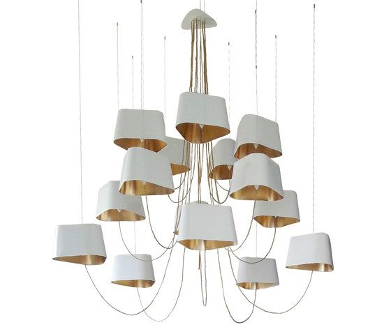 Nuage Chandelier 15 large by designheure by designheure