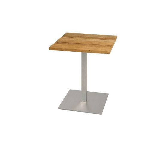 Oko dining table 60x60 cm (Base B - diagonal) by Mamagreen by Mamagreen