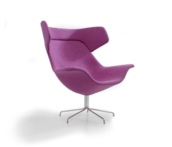 Oyster easy chair by OFFECCT by OFFECCT