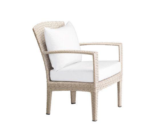 Panama Ecru Lounge chair by DEDON by DEDON