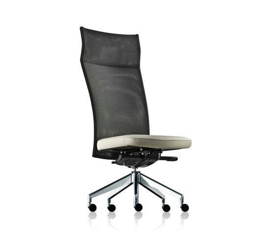 pharao net swivel chair high by fröscher by fröscher
