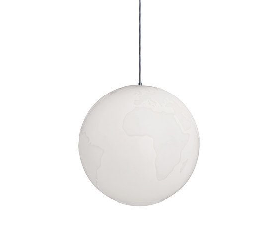 Planet Earth Suspension lamp by Formagenda by Formagenda