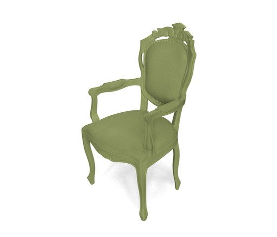 Plastic Fantastic dining chair armchair olive by JSPR by JSPR