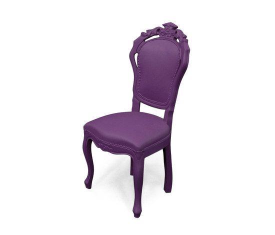Plastic Fantastic dining chair plumm by JSPR by JSPR