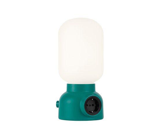 Plug Lamp Table by ateljé Lyktan by ateljé Lyktan