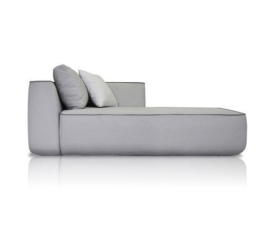 Plump Right chaise longue module by Expormim by Expormim