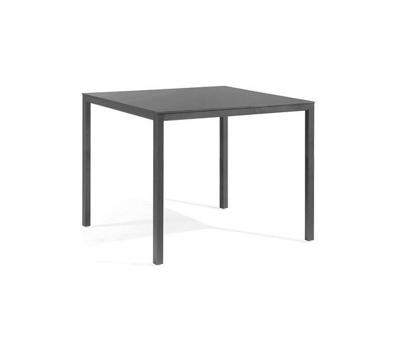Quarto low square bar table by Manutti by Manutti