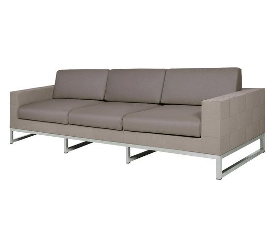 Quilt sofa 3-seater by Mamagreen by Mamagreen