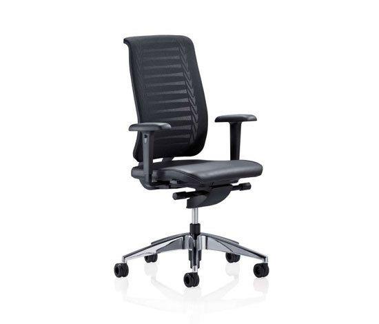 REFLEX Swivel chair by Girsberger by Girsberger