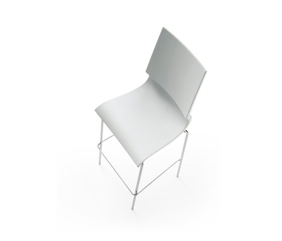 Ricciolina High stool polypropylene by Maxdesign by Maxdesign