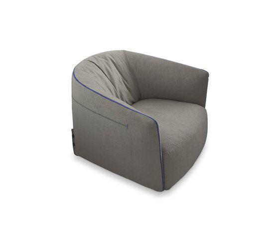 Santa Monica armchair by Poliform by Poliform