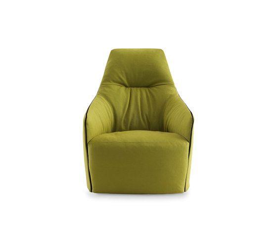 Santa Monica Lounge armchair by Poliform by Poliform