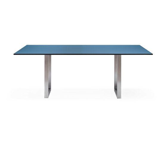 SC 25 Table | HPL with steel legs by Janua / Christian Seisenberger by Janua / Christian Seisenberger