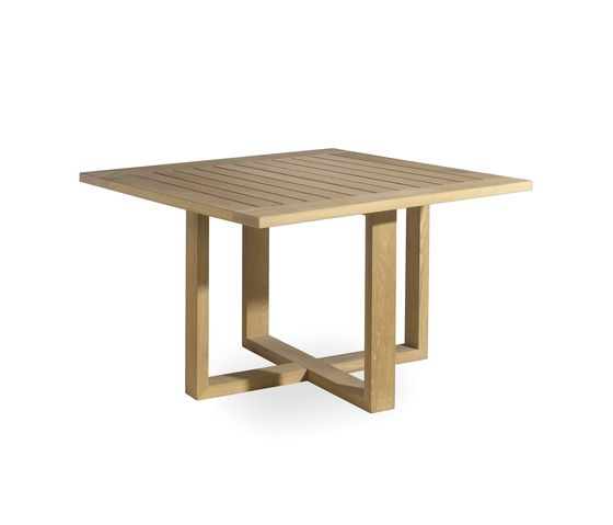 Siena square dining table by Manutti by Manutti