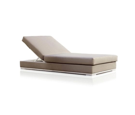 Slim Chaise longue by Expormim by Expormim