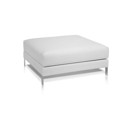 Slim footstool by Expormim by Expormim