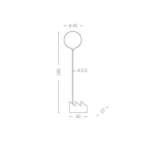 Smoke | Floor lamp by Vertigo Bird by Vertigo Bird