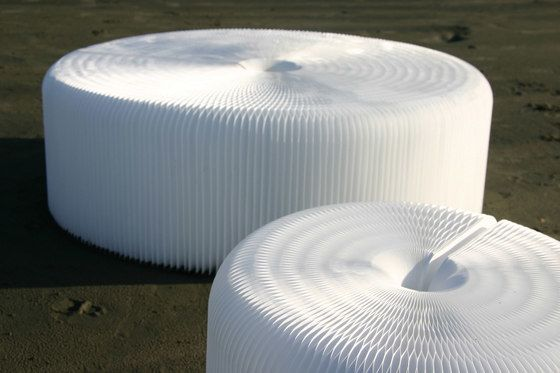 softseating | white textile softseating by molo by molo